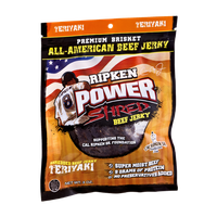 Ripken Power Shred Beef Jerky Teriyaki