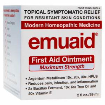 Emuaid First Aid Ointment, Maximum Strength, 2 fl oz