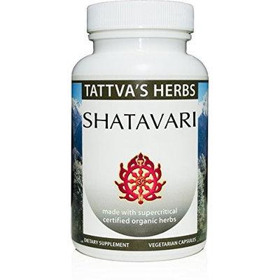 Shatavari Organic Supercritical Tattva's Herbs LLC. 60 VCaps
