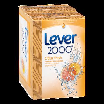 Lever 2000 Bar Soap Citrus Fresh - 2 CT