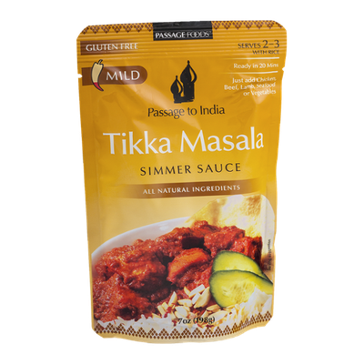 Passage To India Simmer Sauce Tikka Masala Mild