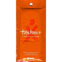 Astrodeals Tanning Lotion, TAN ADDICT, Hardcover Maximizer, Indoor Tanning Tonic, Dark Tanning, Tonic, for a, Tanning Bed, , 4 , Packets, Each, Pack, About, 15 Ml, .57 Fluid, Ounce, Upc 676280000582