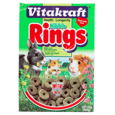 Vitakraft Nibble Rings Crunchy Treat for Small Animals