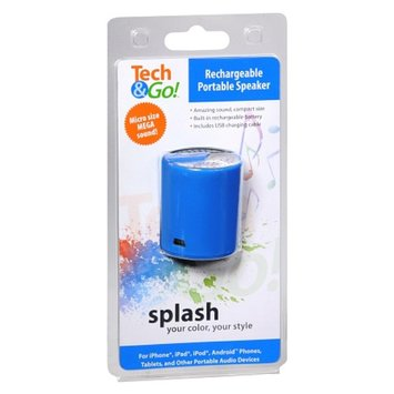 Tech & Go Rechargable Portable Speaker