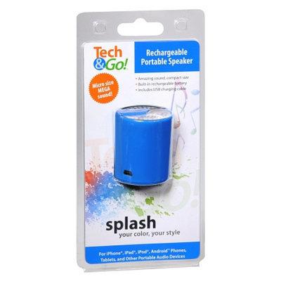 Tech & Go Rechargable Portable Speaker