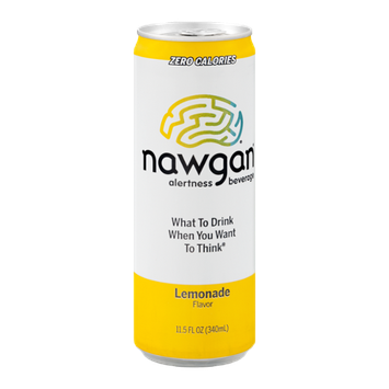 Nawgan Alertness Beverage Lemonade