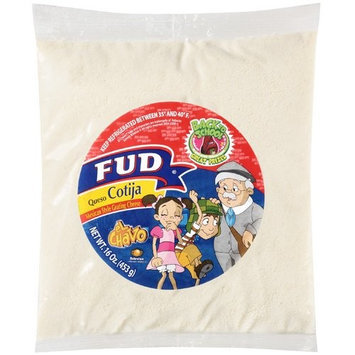 Fud Mexican Style Grating Cheese, 16 oz