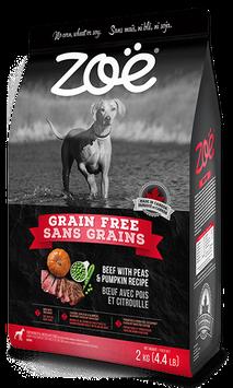 Zoe Grain Free Beef With Peas & Pumpkin Recipe