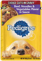 Pedigree® Beef, Noodles & Vegetables Flavor in Sauce Wet Dog Food