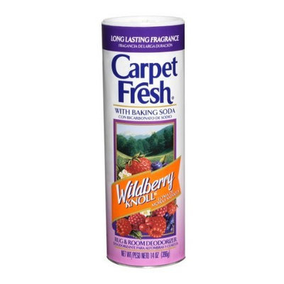 Carpet Fresh 273144 Rug and Room Deodorizer with Baking Soda, 14 oz. Wildberry Knoll Fragrance