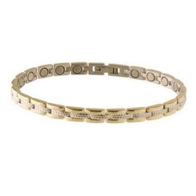 Lady Executive Regal Duet Magnetic Bracelet from Sabona