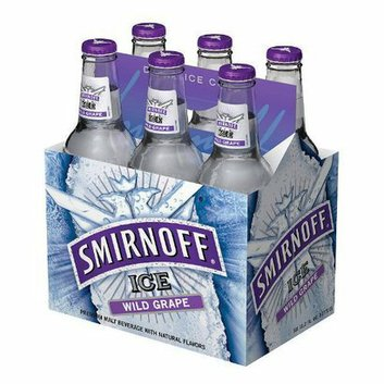 Smirnoff Ice 6-pk. Wild Grape Premium Malt Beverage