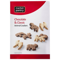 market pantry Market Pantry Classic and Chocolate Animal Crackers - 10 oz.