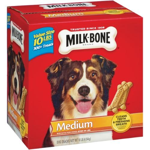 Milk Bone Milk-Bone Original Dog Biscuits; For Medium-Sized Dogs; 10 lb.