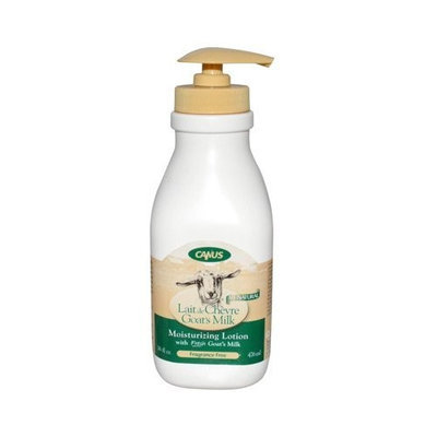 Canus All Natural Goat's Milk Lotion with Pump Top, Fragrance Free, 16 oz