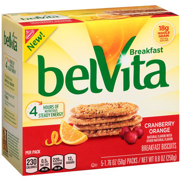 Nabisco belVita Breakfast Biscuits Cranberry Orange