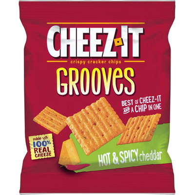 Cheez-It Grooves™ Hot & Spicy Cheddar