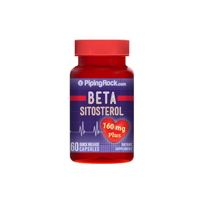 Piping Rock Beta Sitosterol 160mg 60 Capsules