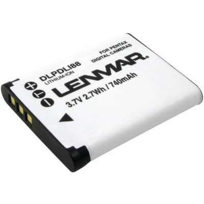 Lenmar DLPDLI88 Pentax D-Li88/Sanyo DB-L80 Replacement Battery