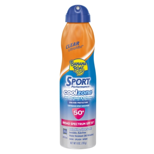 Banana Boat Sport Performance Cool Zone Continuous Spray