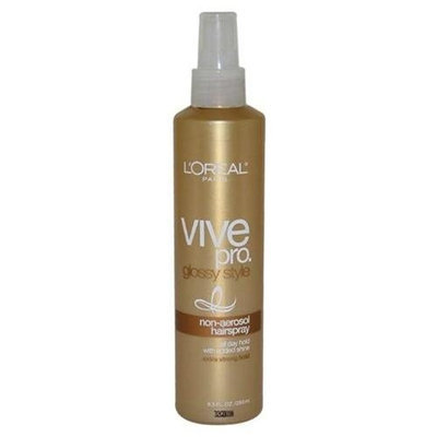 L'Oréal Vive Pro Glossy Style Non-Aerosol Extra Strong Hair Spray by L'Oréal for Unisex - 8.5 oz Hair Spray
