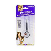 Nutri-Vet Tweezers with Magnifying Glass
