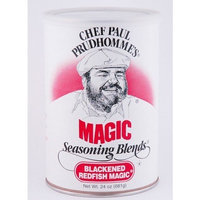 Magic Seasoning Blends Chef Paul Prudhomme's Blackened Redfish Magic 24 Oz