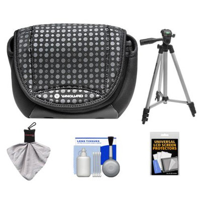 Vanguard Nivelo 18 Mirrorless Interchangeable Lens Digital Camera Case (Black) with Tripod + Accessory Kit