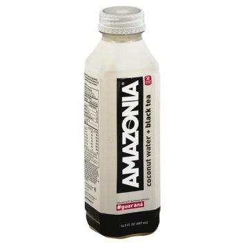 Amazonia Coconut Water + Black Tea #Guarana (Pack of 12)