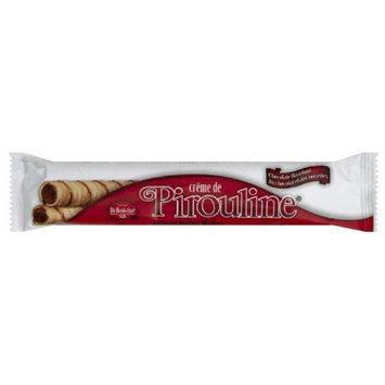 Debeukelaer De Beukelaer Creme de Pirouline Chocolate Artisan Rolled Wafers, .88 oz, (Pack of 36)