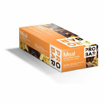Probar Organic Peanut Butter Chocolate Chip Bar Case of 12 3 oz