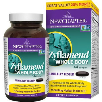 New Chapter Chapter Zyflamend Wholebody Value Pack, 144 Softgels