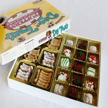 Foppers Gourmet 51 pc Holiday Dog Treat Gift Box, 1 ea