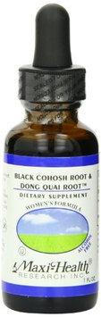 Maxi Health Black Cohosh & Dong Quai Root - 1 OZ.