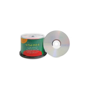 Compucessory COMPUCESSORY DVD-R, 4.7GB, 16X, Branded, 50/PK