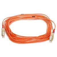 Monoprice Fiber Optic Cable, SC/SC, OM1, Multi Mode, Duplex - 10 meter (62.5/125 Type) - Orange