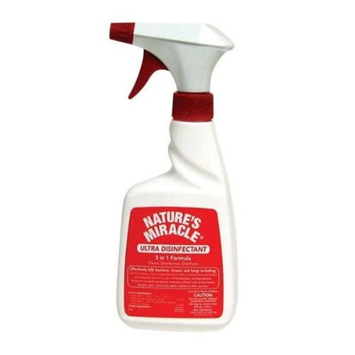 Natures Miracle Nature's Miracle 3-in-1 Formula Ultra Disinfectant for Pets, 16-Ounce