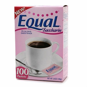 Equal Saccharin Sweetener