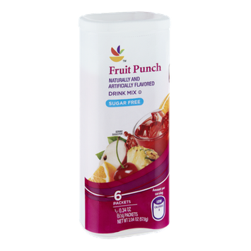Giant Fruit Punch Sugar Free Drink Mix- 6 CT