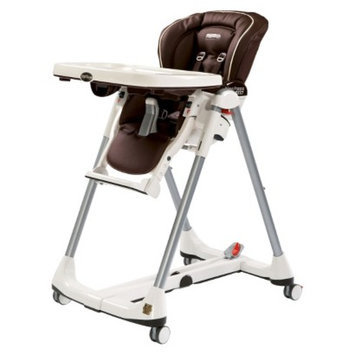 Peg Perego USA Prima Pappa Best High Chair- Cacao by Peg Perego
