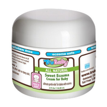 TruBaby Sweet Eczema Cream for Baby, 4 fl oz