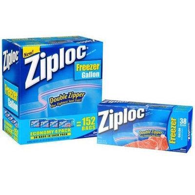 Ziploc Double Zipper Freezer Gallon Bags
