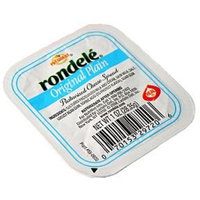 Rondele Plain Cheese Spread,1 Ounce -- 48 per case.