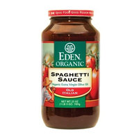 Eden Organic Spaghetti Sauce, 25-Ounce, Pack of 12