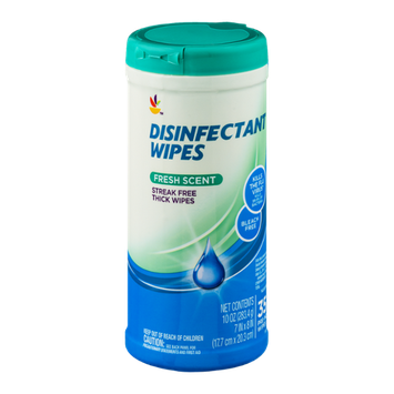 Ahold Disinfectant Wipes Fresh Scent - 35 CT
