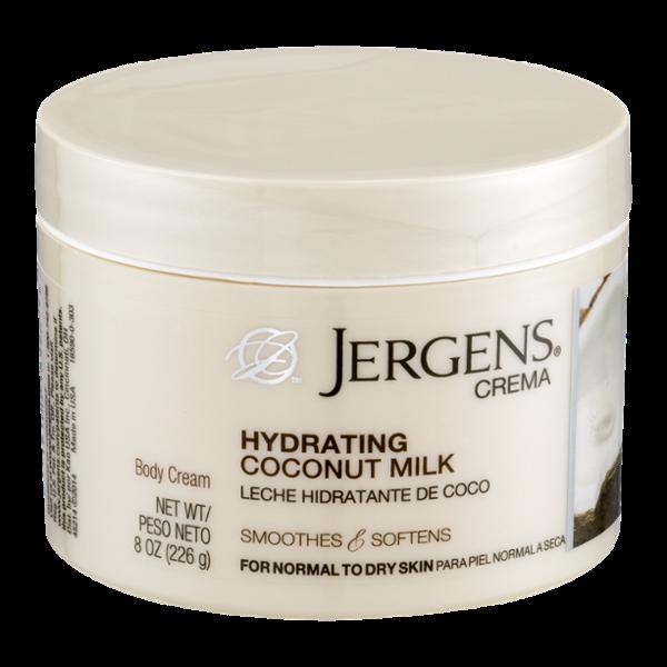 Jergens Crema Body Cream Hydrating Coconut Milk