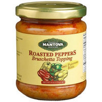 Mantova Bruschetta Roasted Pepper, 6-Ounce Bottles (Pack of 4)