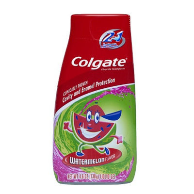Colgate Children's 2 in 1 Toothpaste and Mouthwash