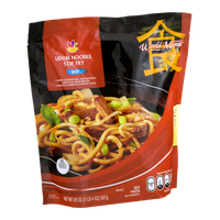 Ahold World Menu Japanese Udon Noodle Stir Fry Beef