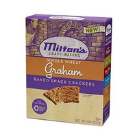 Milton's Crackers - Graham Whole Wheat, 8-Ounce (Pack of 6)